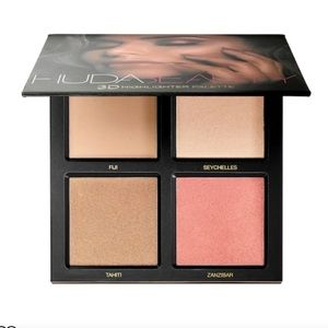 Huda Beauty 3D Highlighter Palette - Gold Sand